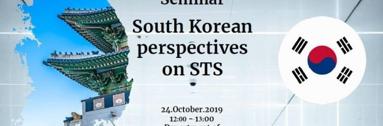 Seminar KULT South Korean perspectives on STS