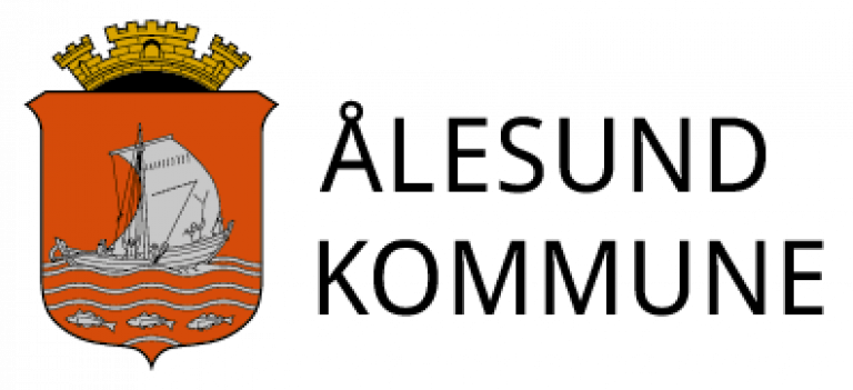 Alesundkommune logo sidestilt
