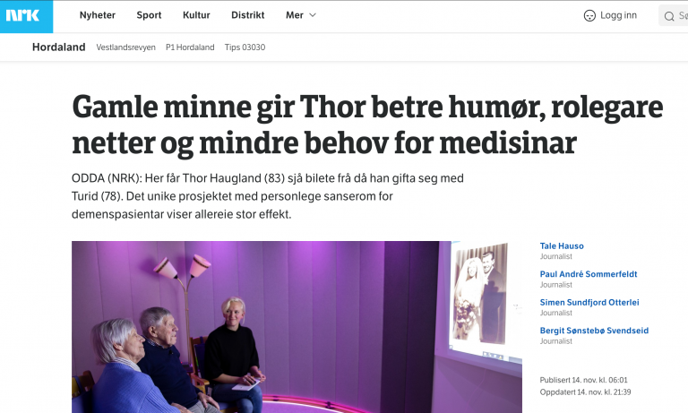 NRK Article