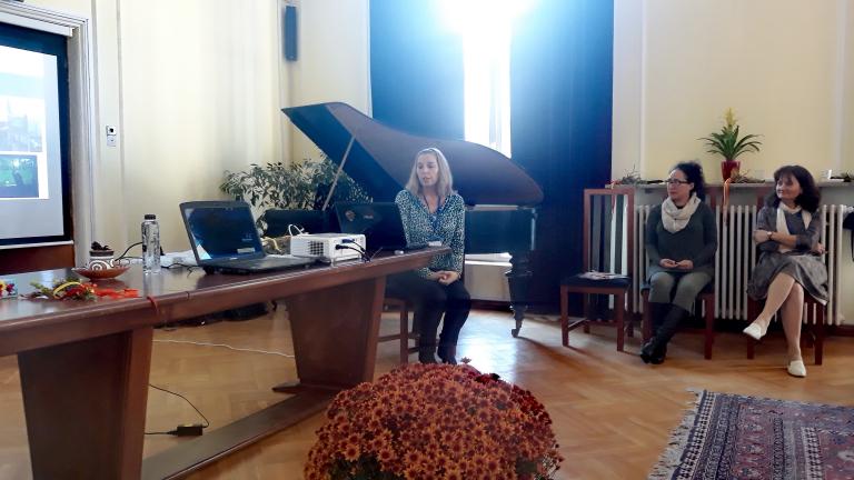 SG Workshop Andreea Marin Presenting