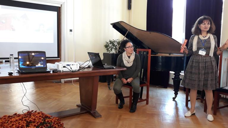 SG Workshop Ileana Ciobanu and Rozeta Draghici