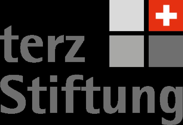 Terz Stiftung Logo weiss